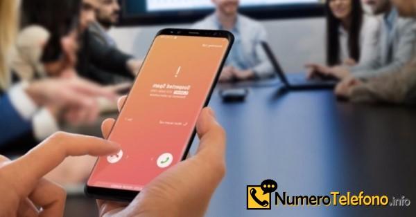 Posible llamadas de spam a través del teléfono del número telefónico 600000020