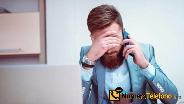 Posibilidad de llamada spam por teléfono del teléfono número 600000026