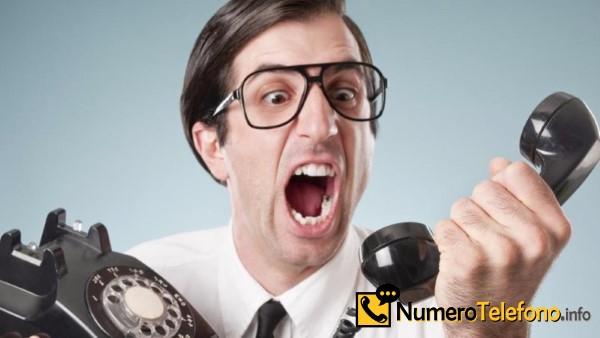 Posibilidad de llamadas de spam a través del teléfono del número tlf 611-119-075