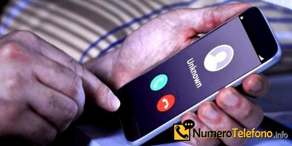 Posibilidad de llamada spam a través del teléfono del número tlf 601085155