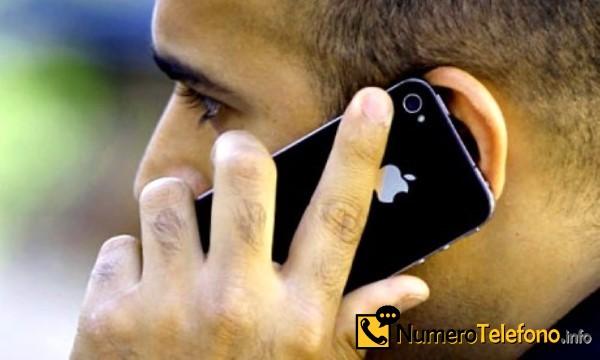 Posibilidad de llamada spam a través del teléfono del número telefónico 910 95 01 72