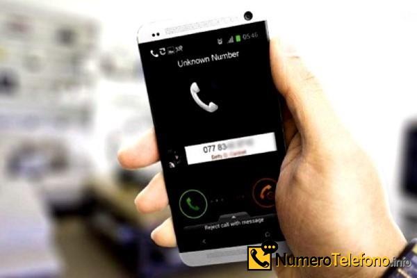 Posibilidad de llamada spam a través del teléfono del número 625 07 01 85