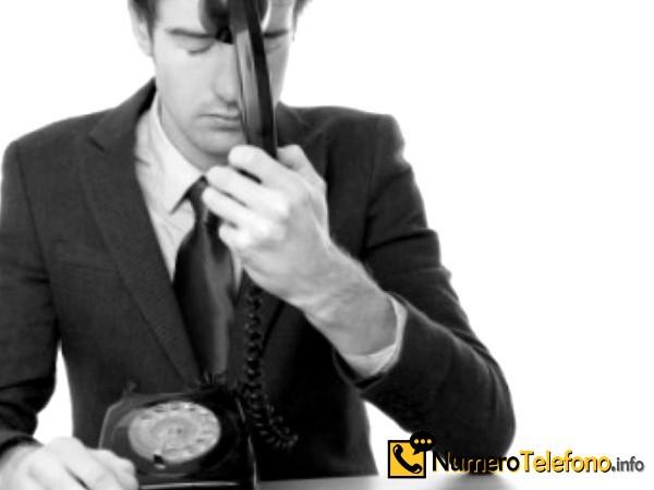 Posibilidad de llamadas de spam a través del teléfono del número tlf 868 48 34 52