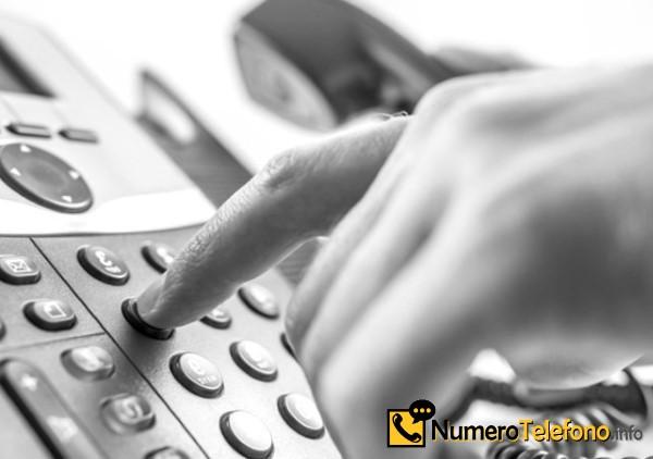 ¿De quién es el número telefónico 600-135-460?