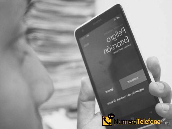 Posibilidad de llamadas de spam a través del teléfono del  919 99 27 12