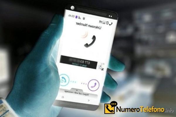 Posibilidad de spam a través del teléfono del teléfono número 628-217-869